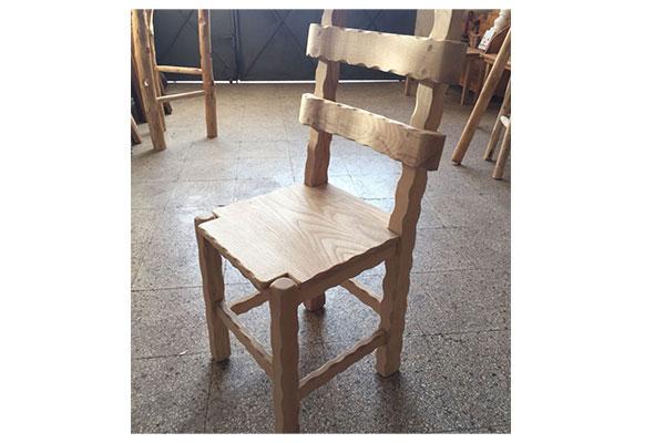 Sedie Artigianali Legno.Sedie In Legno Di Castagno Artigianali Arte Rustica